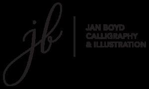 Jan Boyd Calligraphy & Illustration Logo