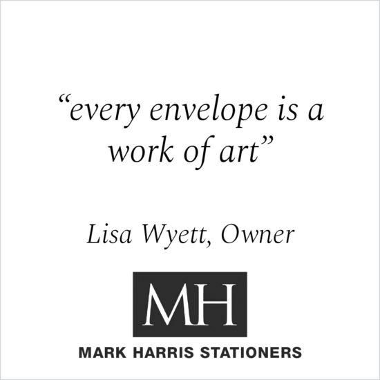 Kind Words - Lisa Wyett, Owner Mark Harris Stationers