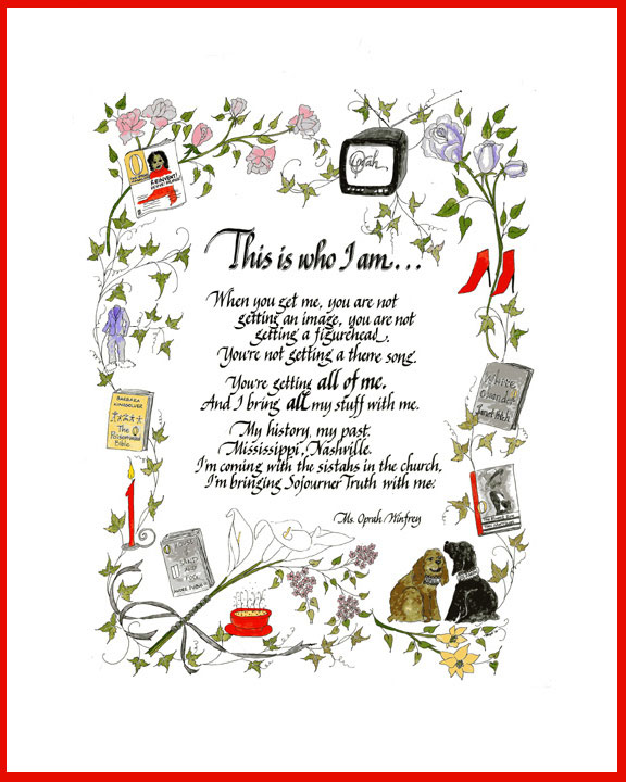 Jan Boyd - Oprah Quote and Decorative Border