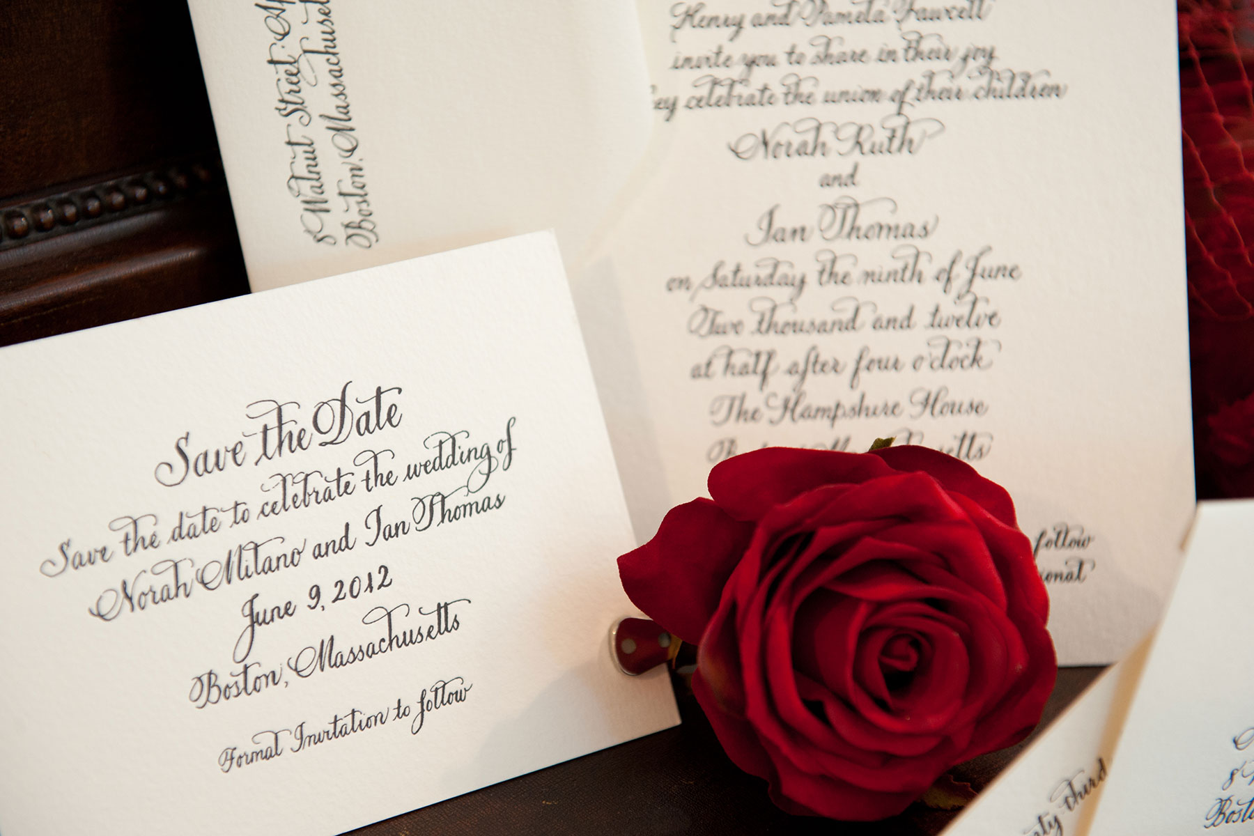 Invitations/Save the Dates – Jan Boyd Calligraphy & Illustration