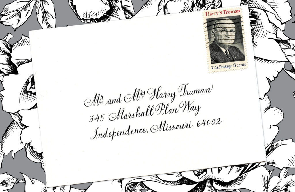 Style: Mr. and Mrs. Harry Truman (Truman)