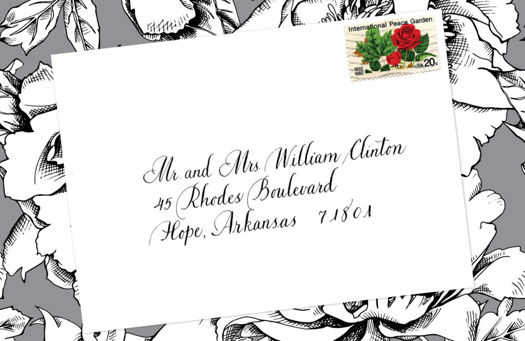 Style: Mr. and Mrs. William Clinton (Bickham)
