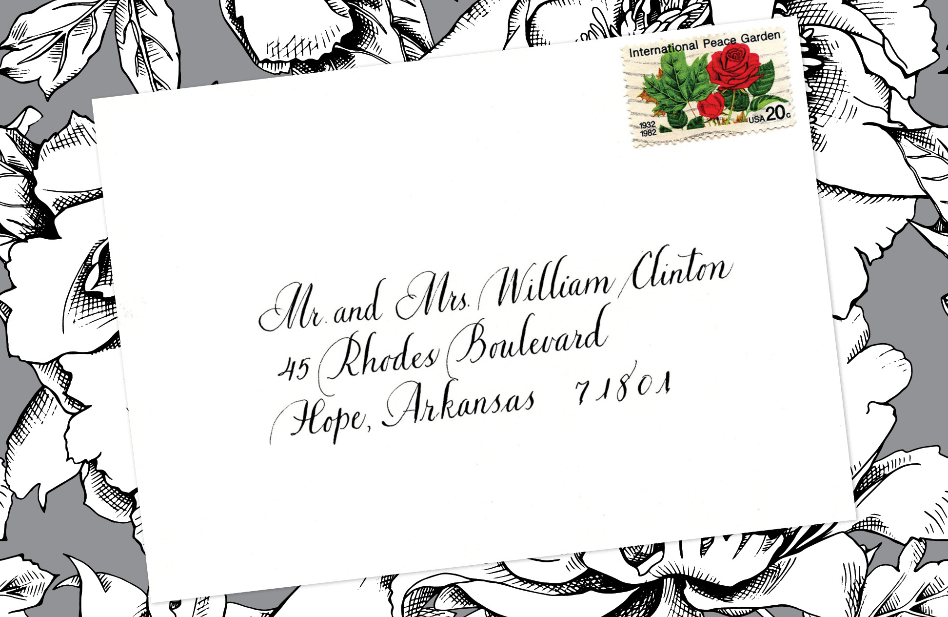 10. Style: Mr. and Mrs. William Clinton (Bickham)