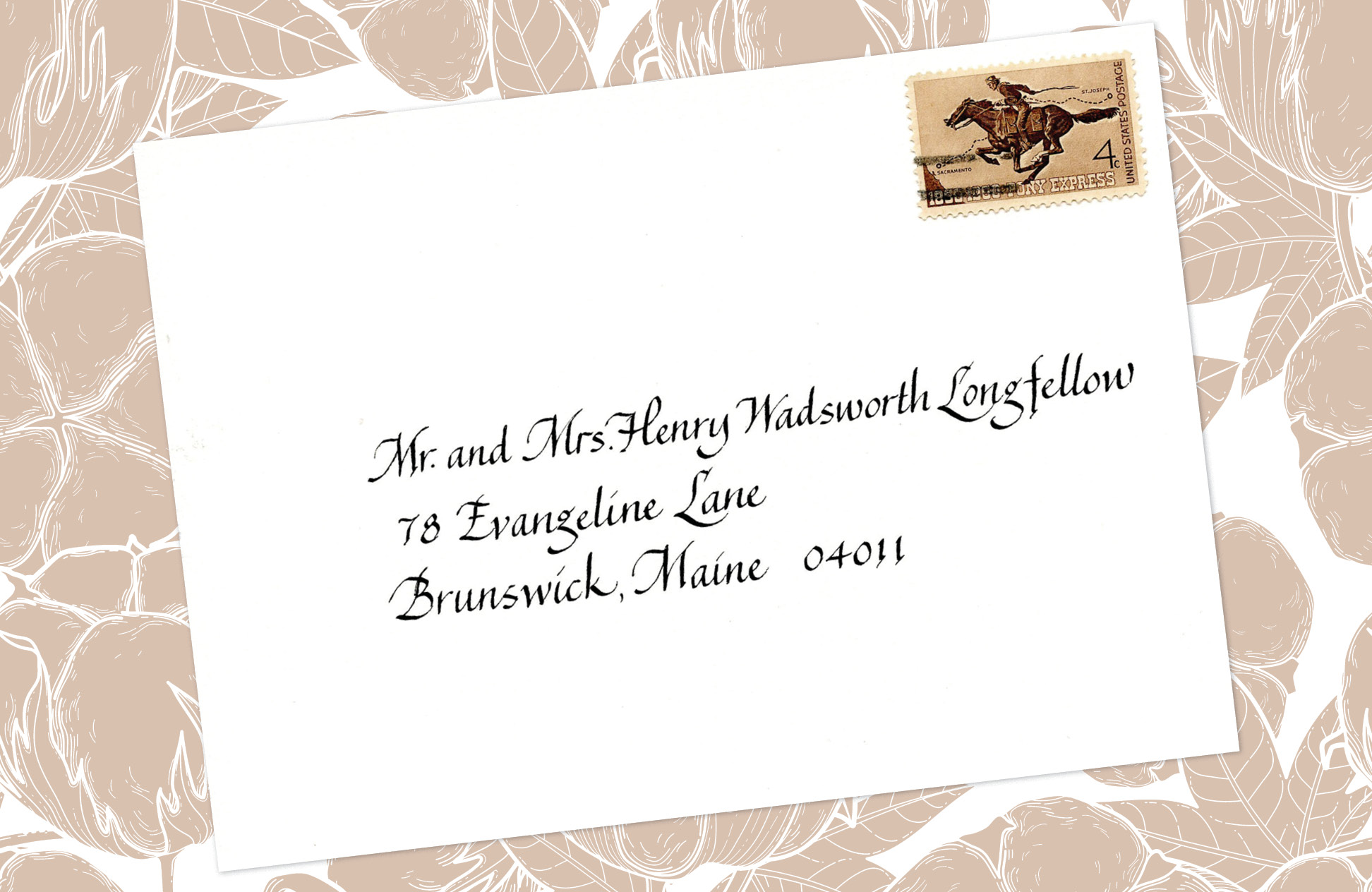 16. Style: Mr. and Mrs. Henry Wadsworth Longfellow (Alexandra)