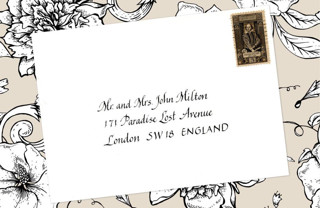 Style: Mr. and Mrs. John Milton (Chantal)