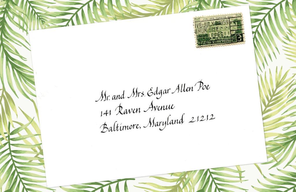 Style: Mr. and Mrs. Edgar Allen Poe (Penman)