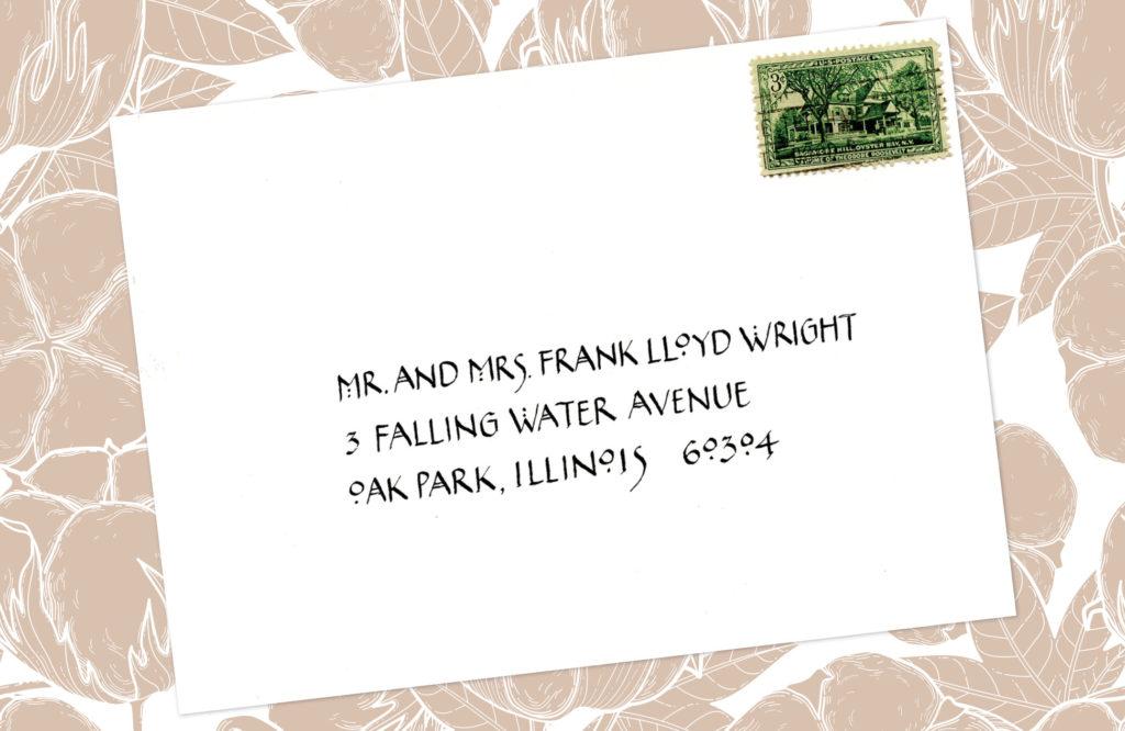 Style: Mr. and Mrs. Frank Lloyd Wright (MacIntosh)