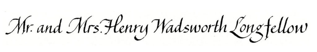 16. Style: Mr. and Mrs. Henry Wadsworth Longfellow (Alexandra)