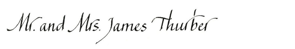 21. Style: Mr. and Mrs. James Thurber (Myerkoff)
