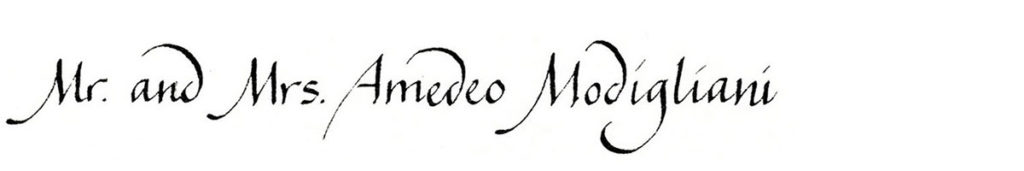 23. Style: Mr. and Mrs. Amedeo Modigliani (La Figura)