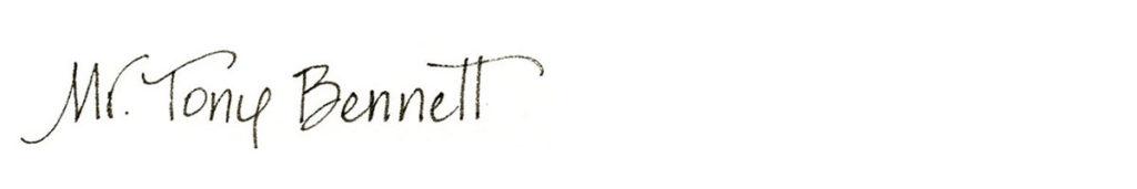 28. Style: Mr. Tony Bennett (Roxy)