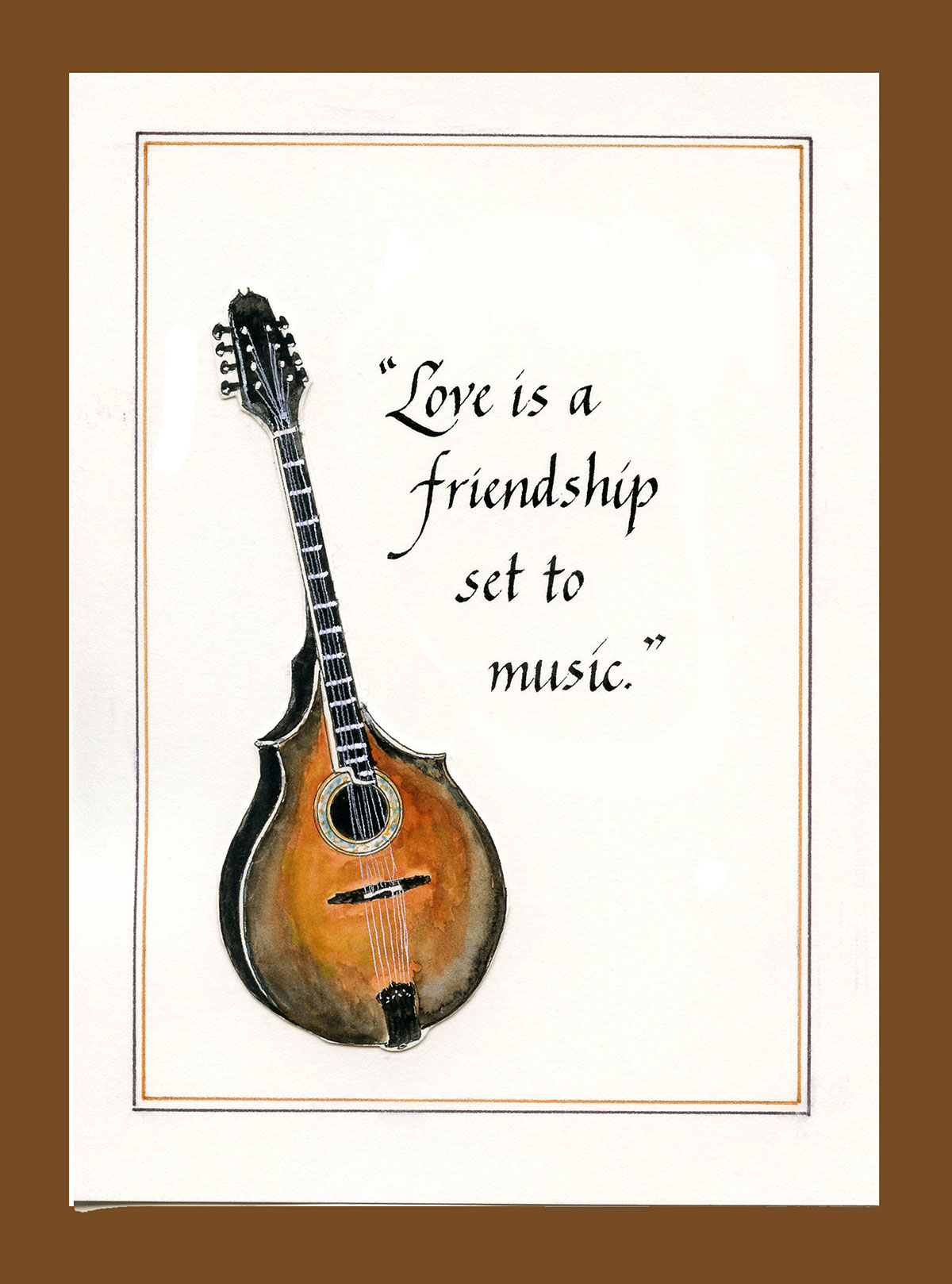 Jan Boyd Quote - Love and Mandolin