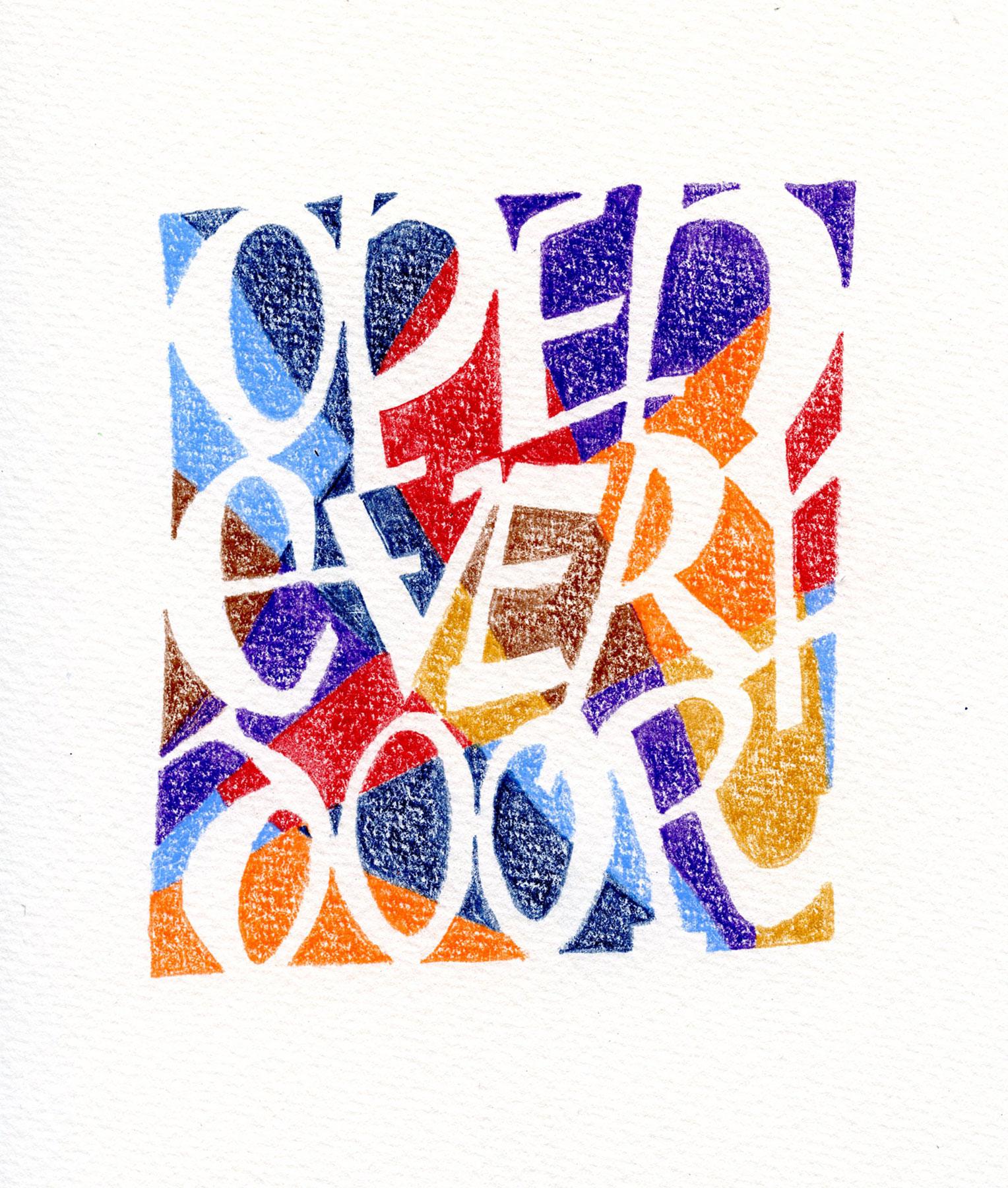 Jan Boyd Quote - Open Every Door