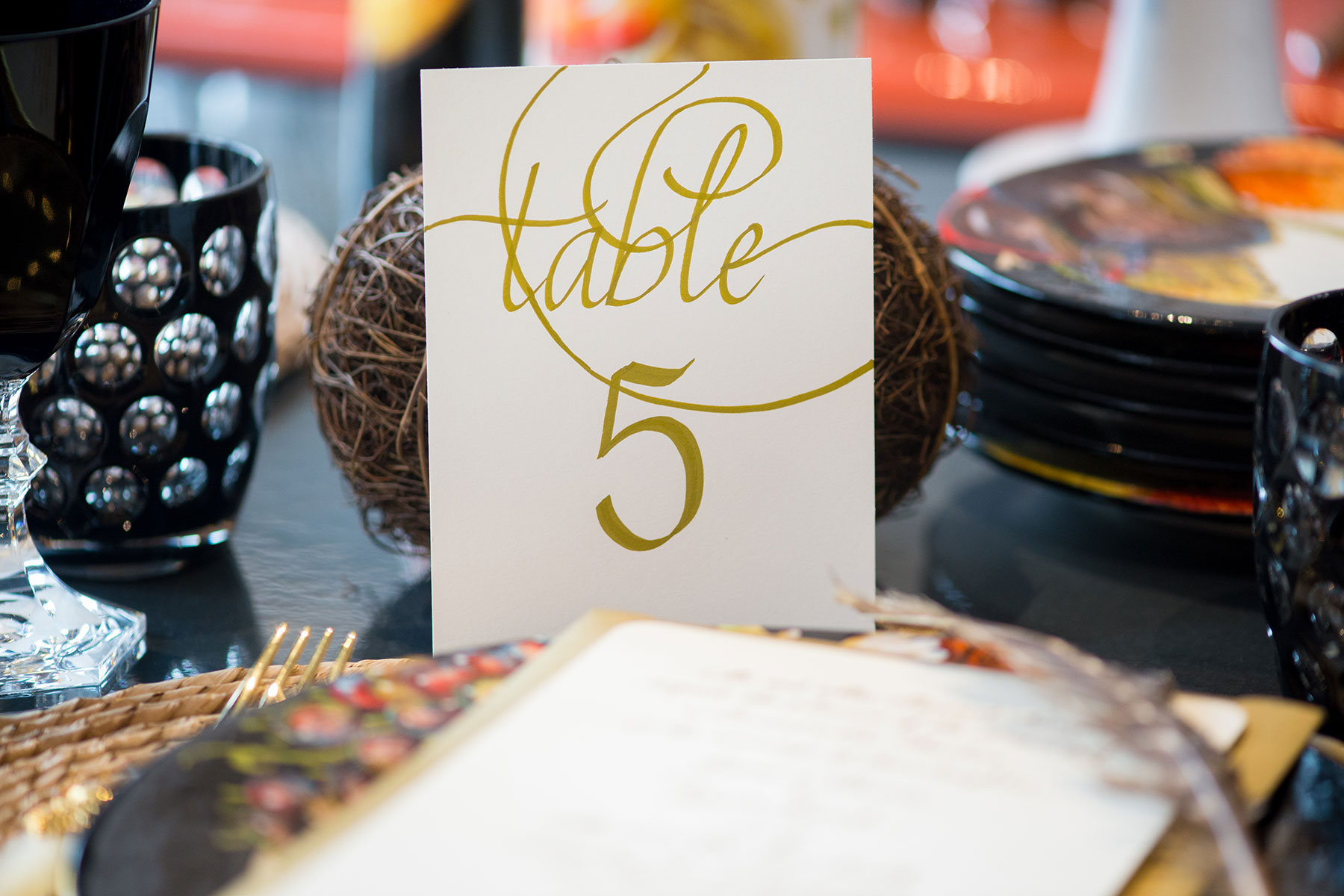 Jan Boyd Table Numbers Johnson Photography