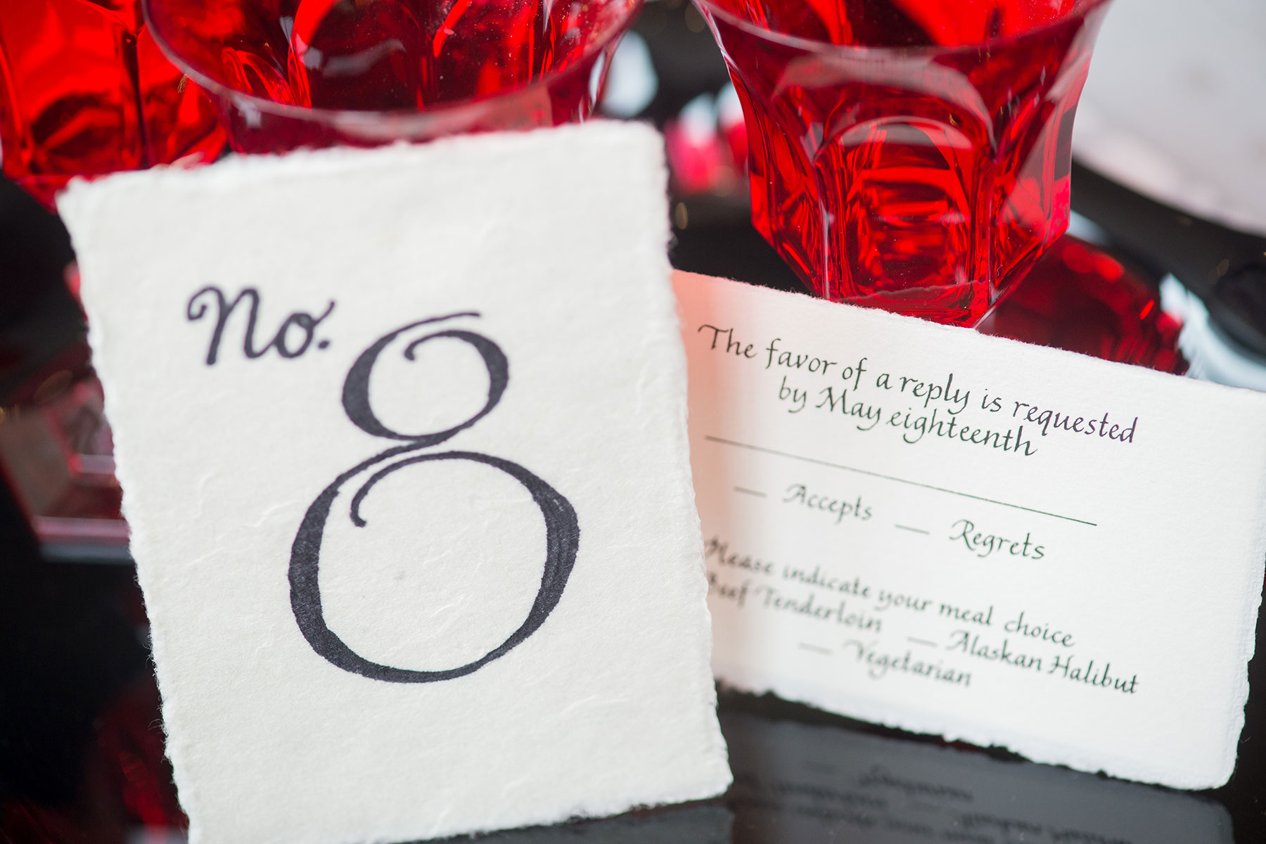 Jan Boyd - Table Number - Johnson Photography