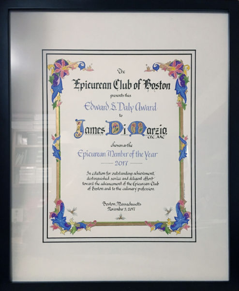 Jan Boyd Calligraphy - Award/Certificate