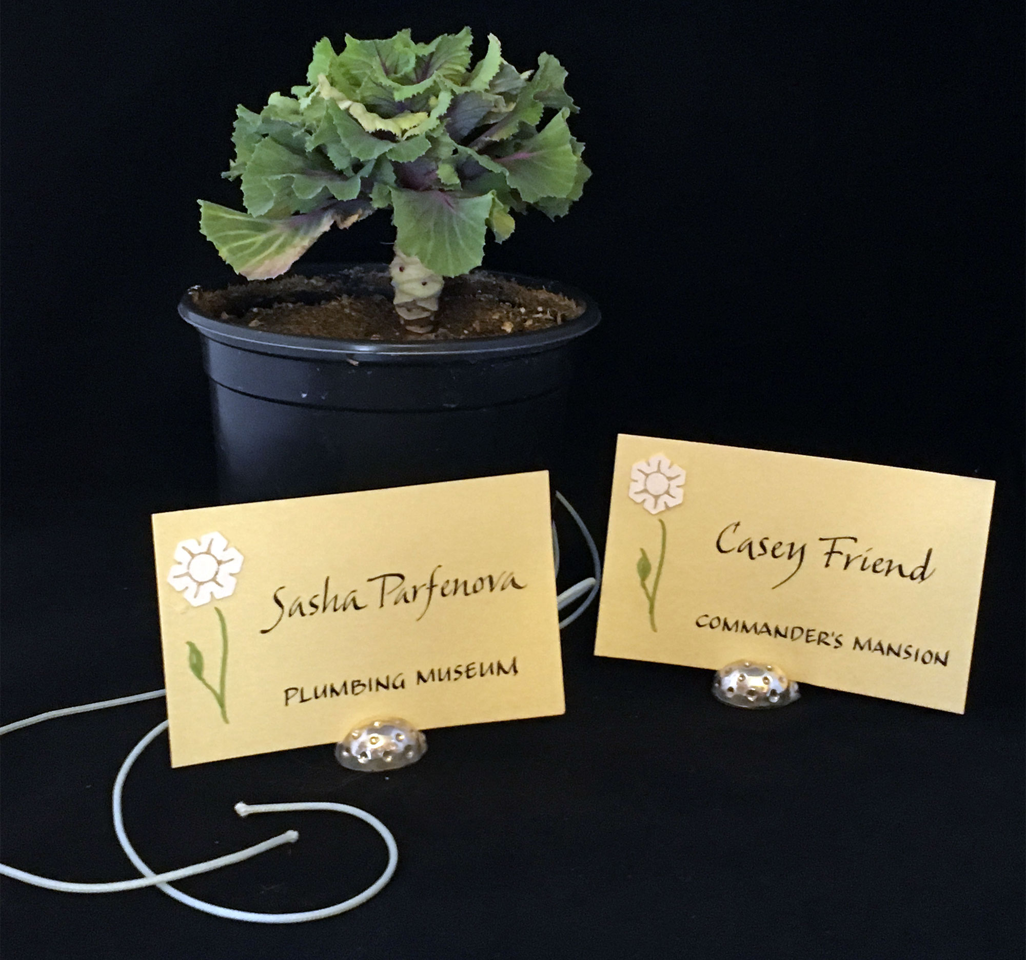 Jan Boyd Calligraphy - Name Badges